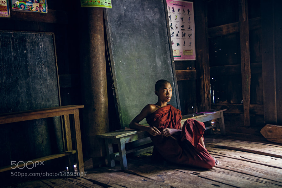 Photograph Once upon a time in Myanmar by Thomas Cristofoletti on 500px