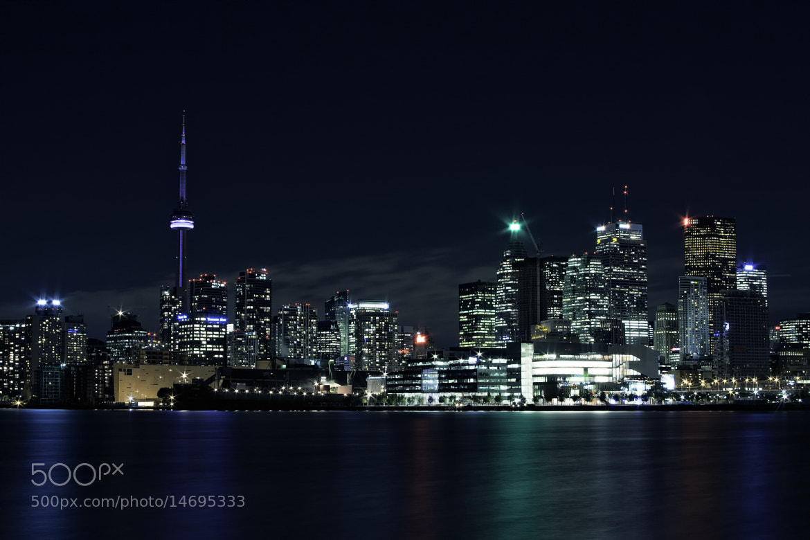 Photograph Toronto Night Skyline by Nazar Zhovnirchyk on 500px