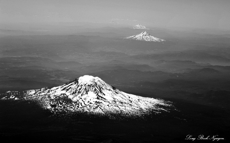 Photograph Volcanoes in Pacific Northwest by Long Bach Nguyen on 500px