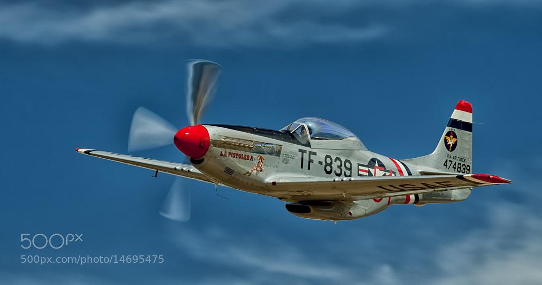 "Photograph ""La Pistolera"" P-51 Mustang by Richard  Small on 500px"