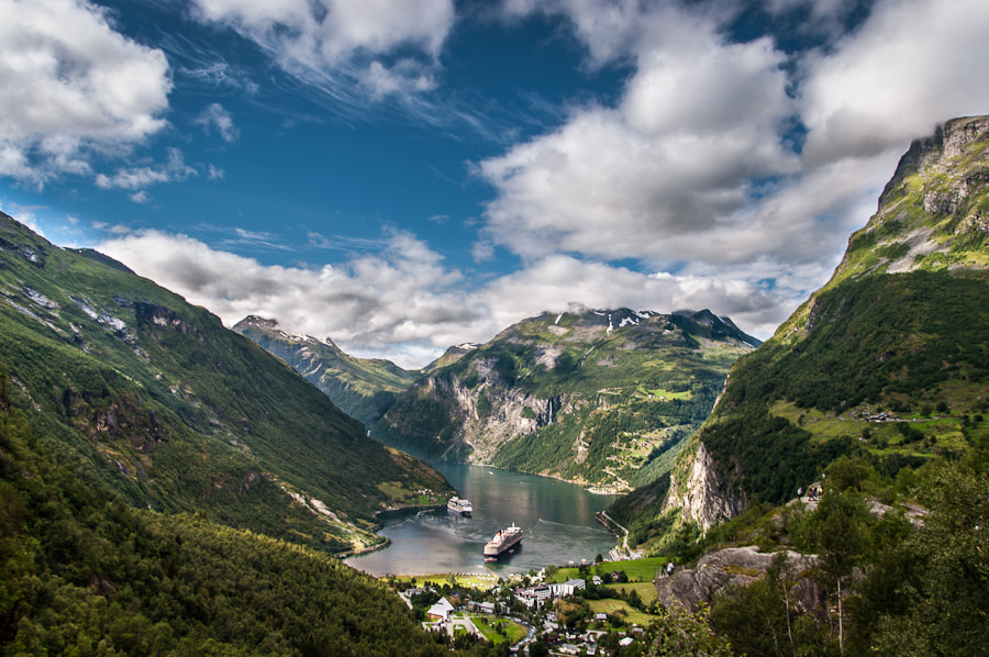 Photograph Geirangerfjord by Dave Gregory on 500px