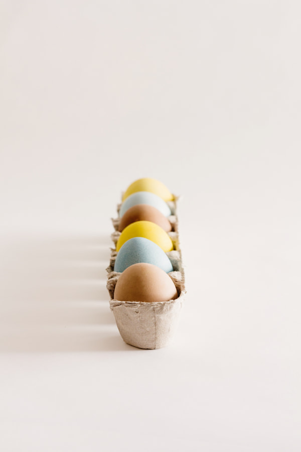 Colourful Easter eggs by Gabriela Tulian on 500px.com