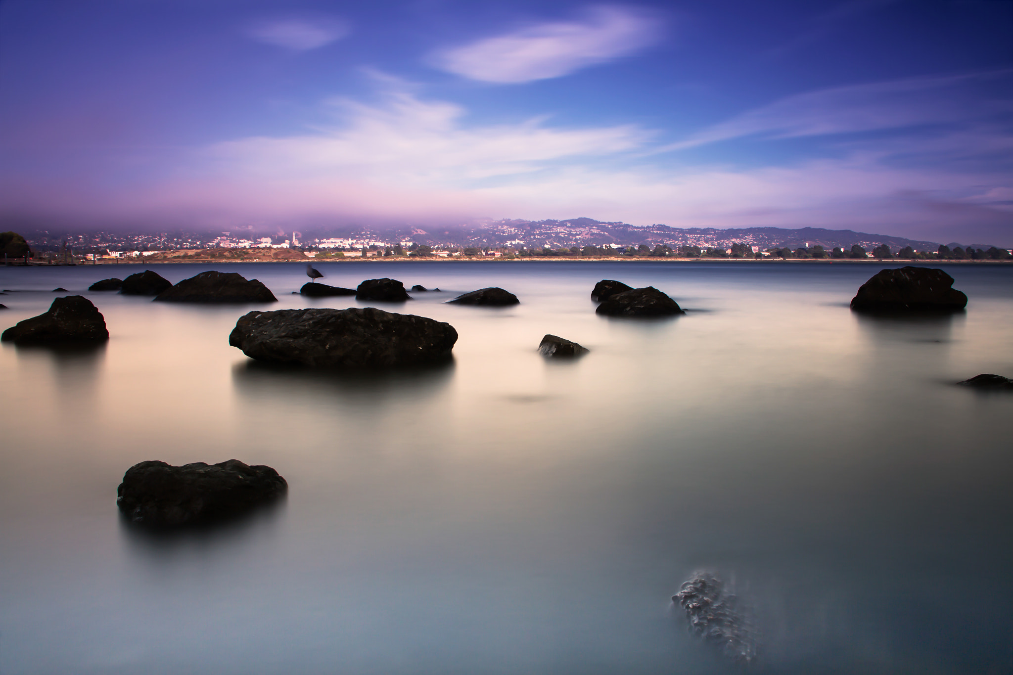 Photograph Blue on the Rocks by Alister C. on 500px