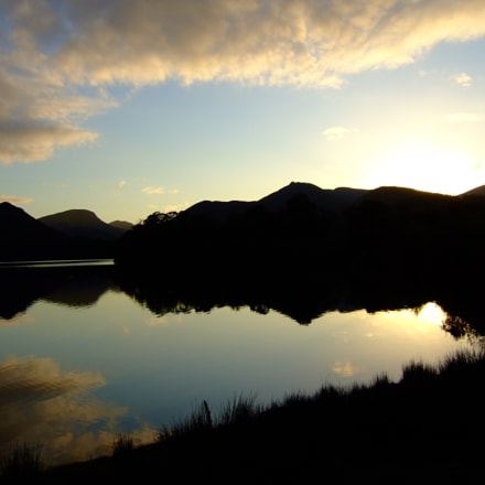 Lake District sunset, Fujifilm FinePix E900