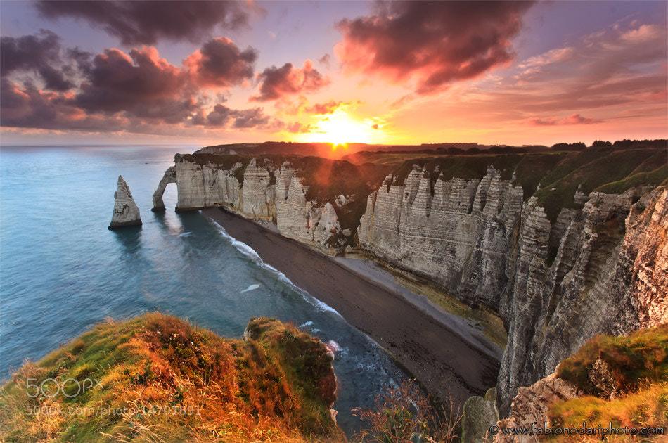 Photograph Sunrise at Etretat by Fabio Nodari on 500px