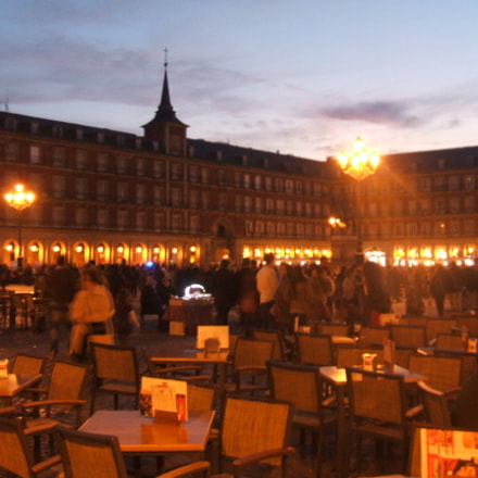 Plaza Major, Madrid, Fujifilm FinePix A400