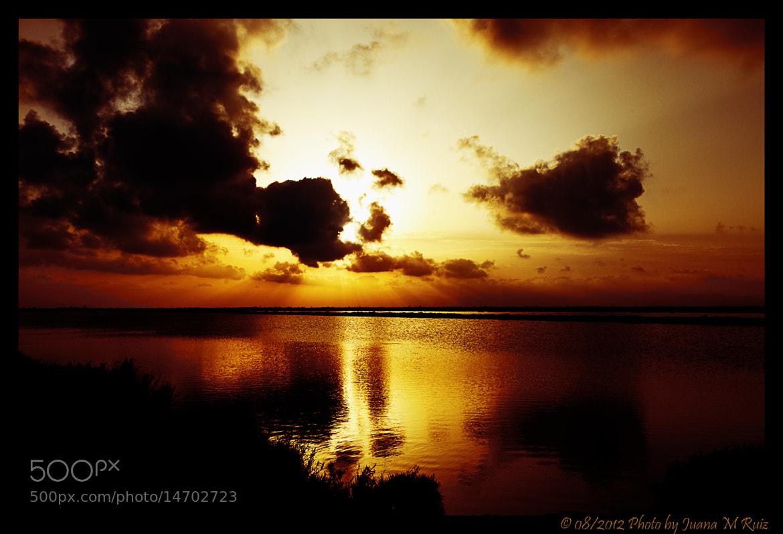 Photograph Red Sunset by Juana Maria Ruiz on 500px