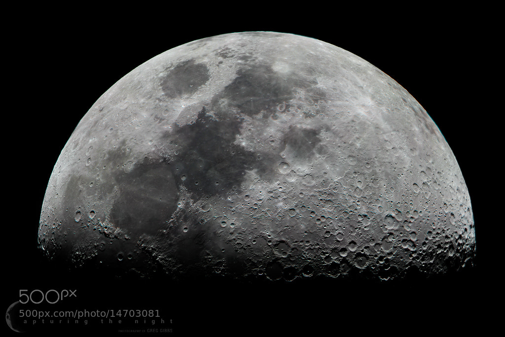 Photograph Lunar Mosaic by Greg Gibbs on 500px