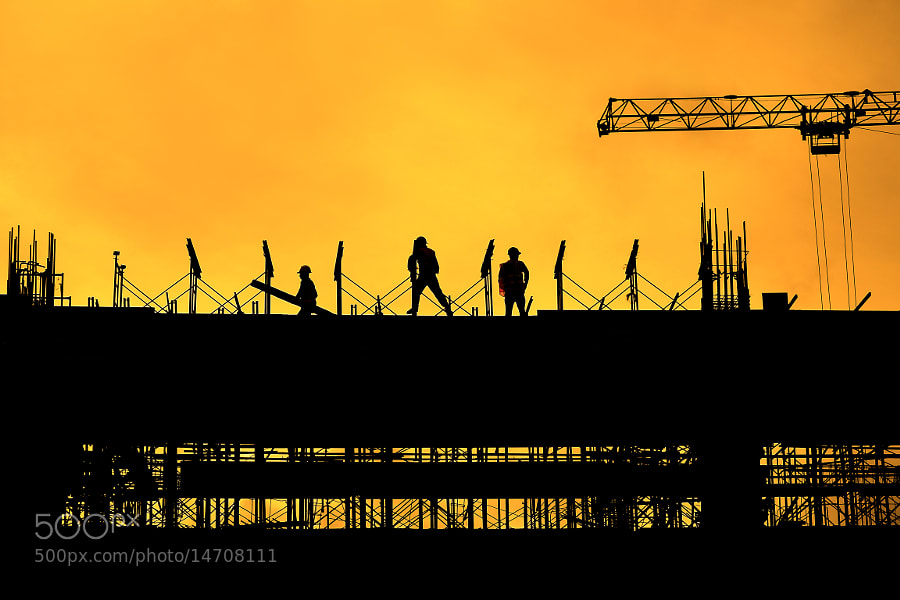 Photograph Construction Site by Wilfredo Lumagbas Jr. on 500px