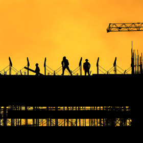 Construction Site by Wilfredo Lumagbas Jr. (lumagbasphotography)) on 500px.com