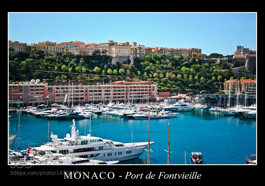 Port de Fontvieille by AlessioNastroSiniscalchi