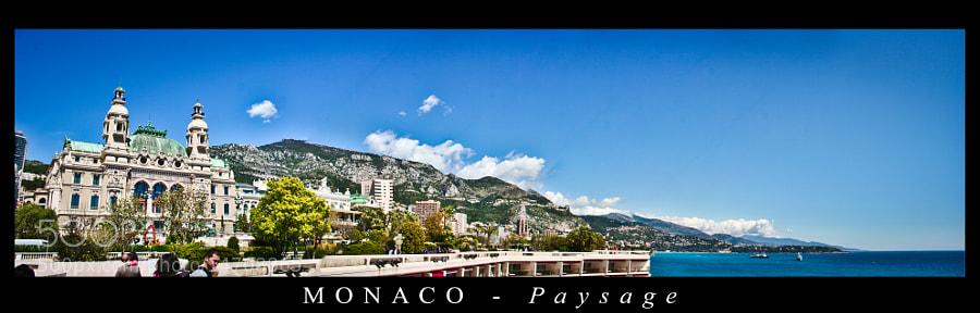Paysage de Monaco by AlessioNastroSiniscalchi