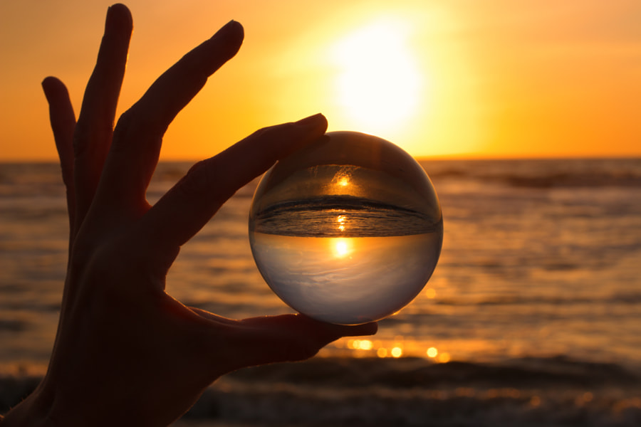 Crystal Ball on the Beach