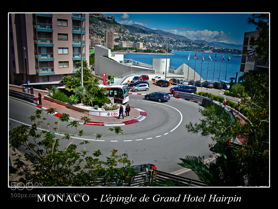 Lépingle de Grand Hotel Hairpin by AlessioNastroSiniscalchi