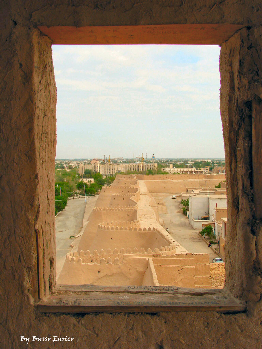 Photograph The city walls of Khiva by EnricoBusso on 500px