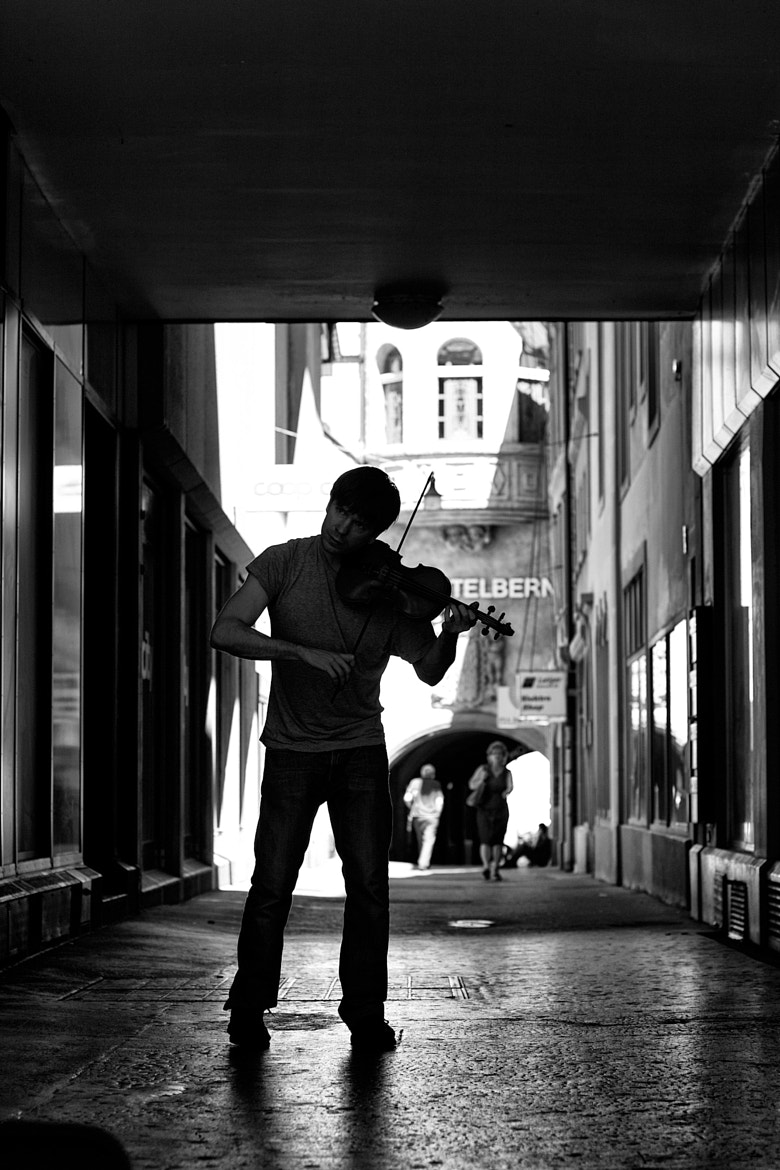 Photograph The Violinist by Peter Becker on 500px