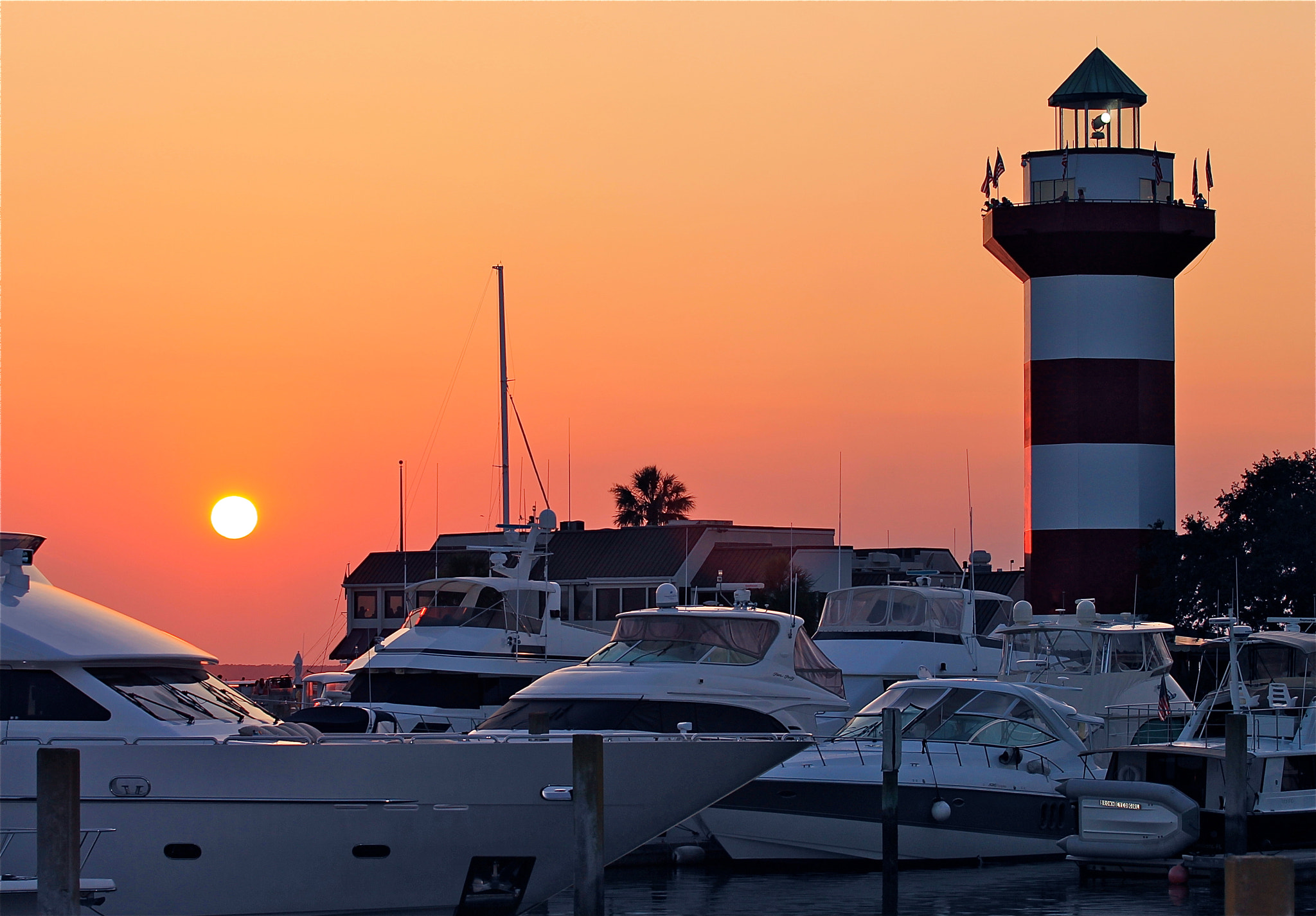 Photograph Harbour Town Sunset, HHI by Eric Lewis on 500px