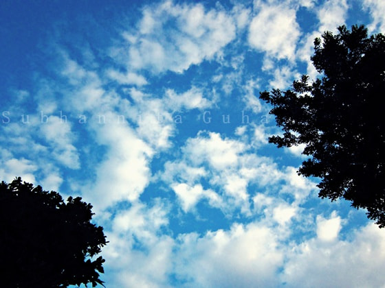 Photograph Passing Clouds by Subhannita Guha on 500px