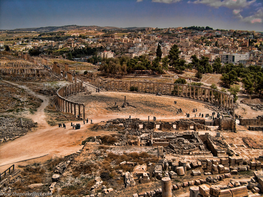 Jerash by Donato Scarano on 500px.com