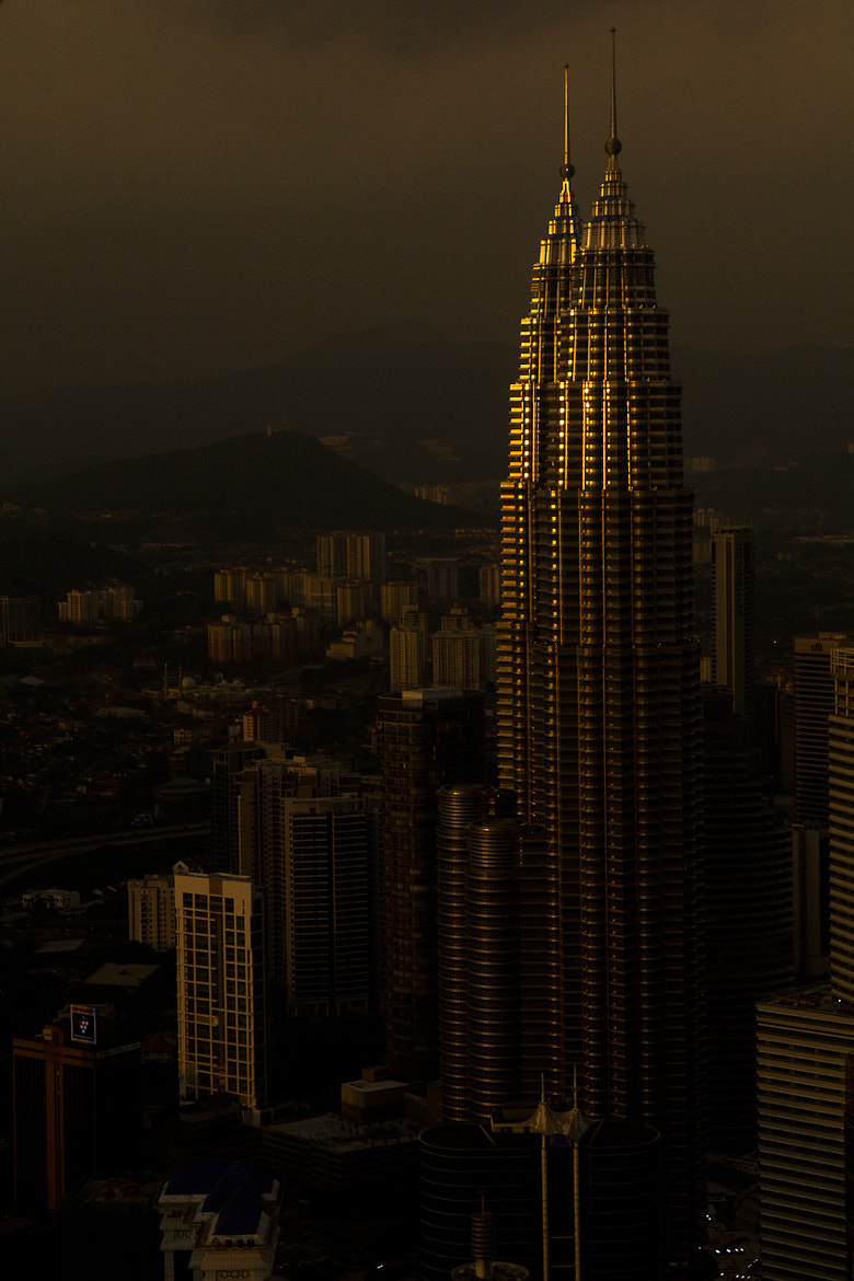 Photograph Petronas Twin Towers at Dusk by DW Lee on 500px