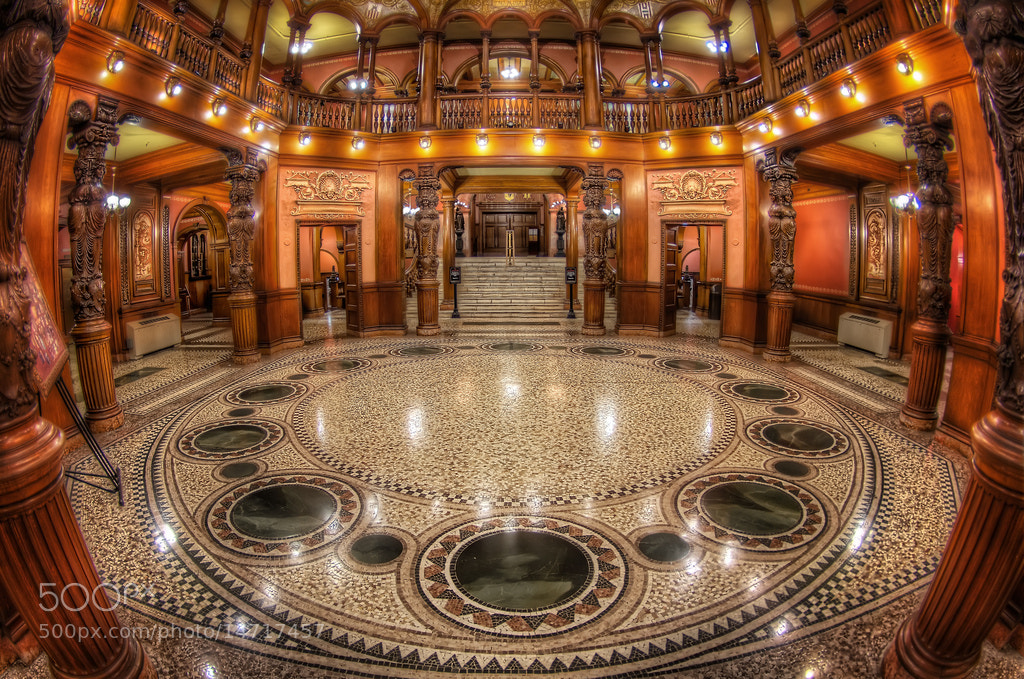 Photograph Flagler in Fisheye by Michael Criswell on 500px