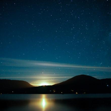 Caburgua Moonrise