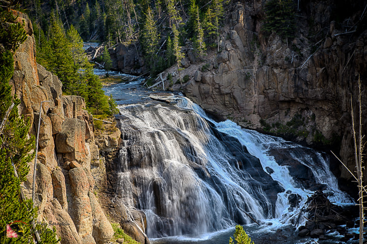 Photograph  Firehole Falls by Myer Bornstein on 500px