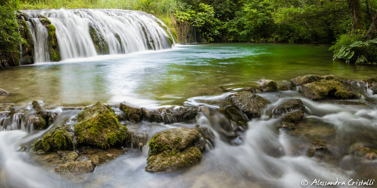 Photograph Little Waterfalls by Alessandra Cristalli on 500px