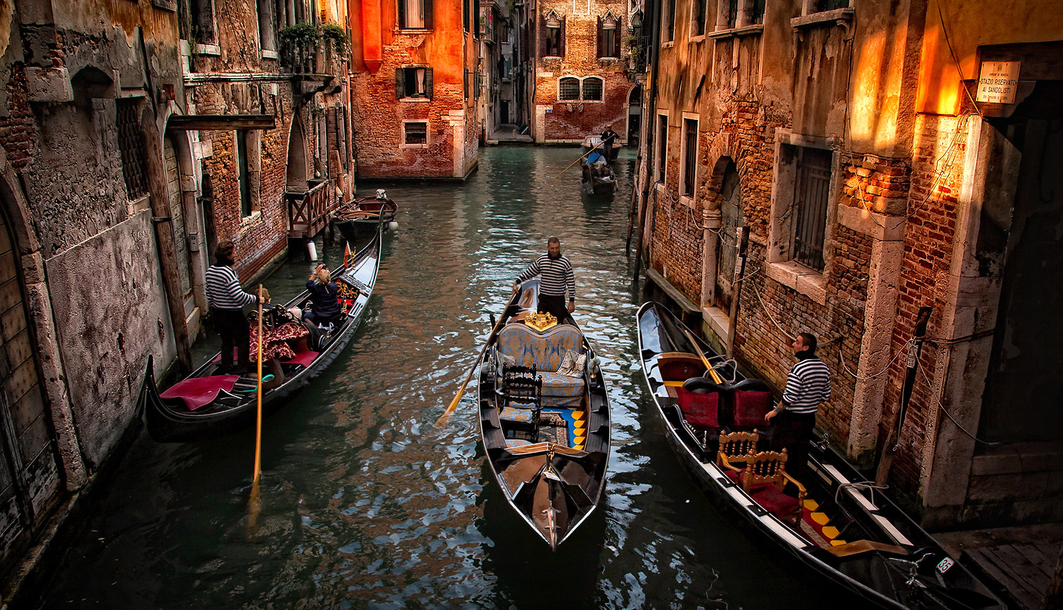 Photograph Gondolas - Venice by Vasja Pinzovski on 500px