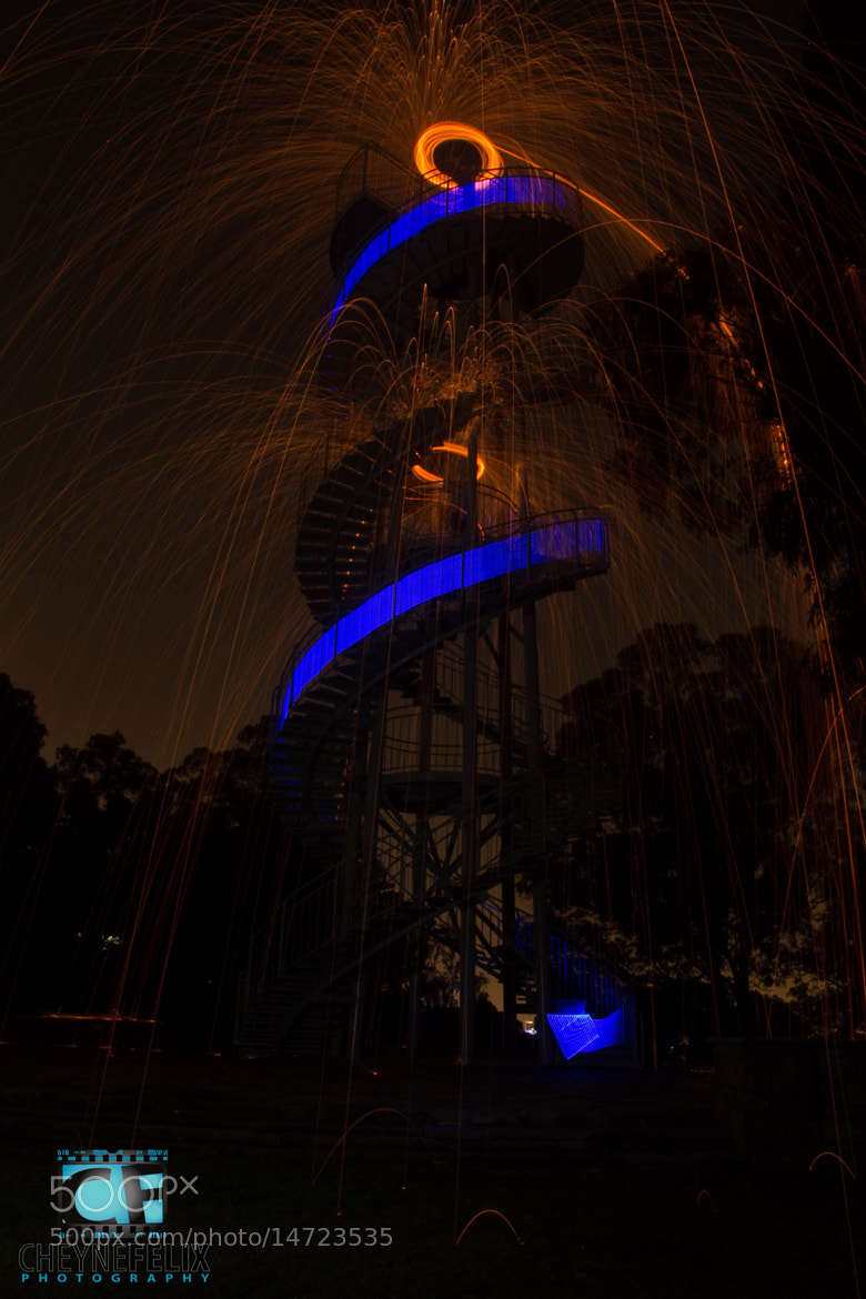 Photograph DNA Tower Twin Orbs by Cheyne Felix on 500px