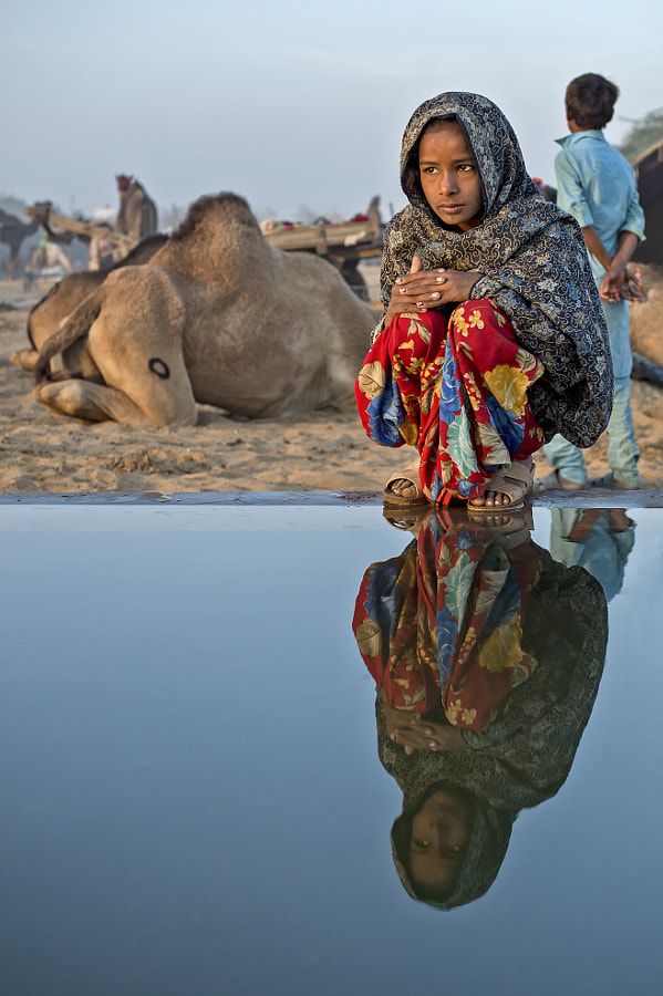girl from Pushkar by Yaman Ibrahim on 500px.com