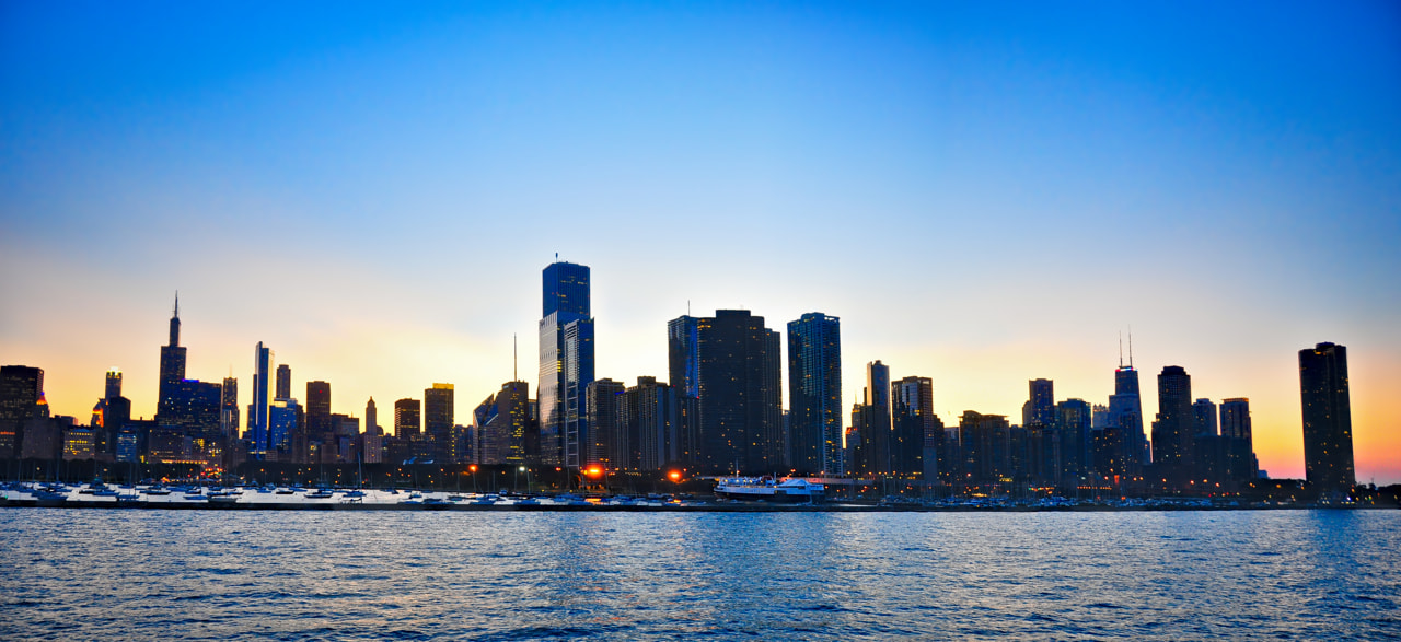Photograph Chicago Harbor Pano by Chris Allen on 500px