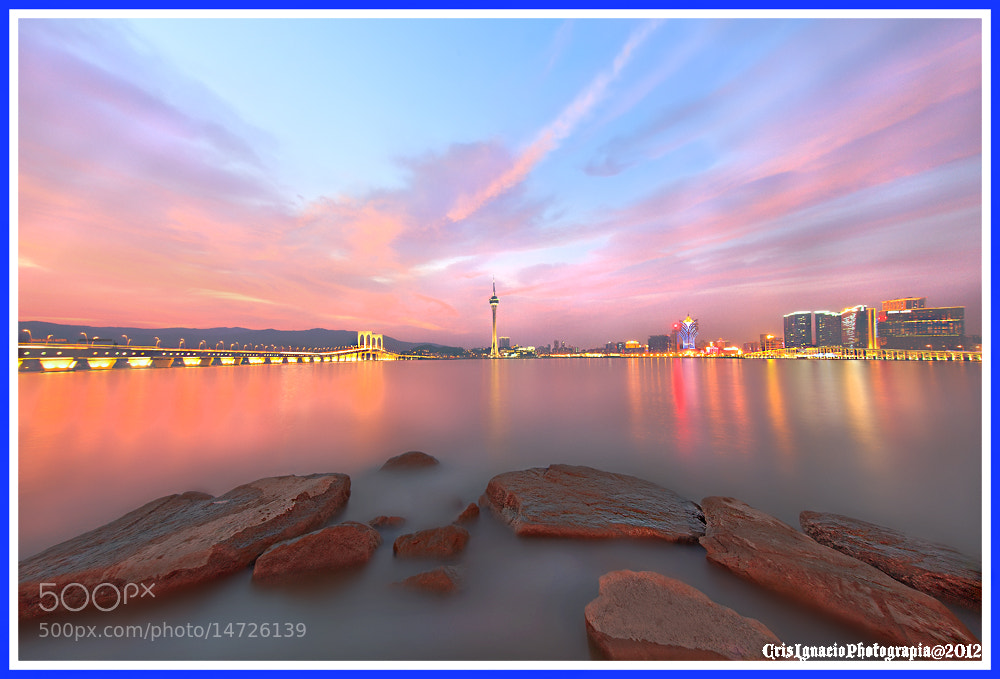 Photograph Sunset@Taipa,Macau by Crisanto Ignacio on 500px