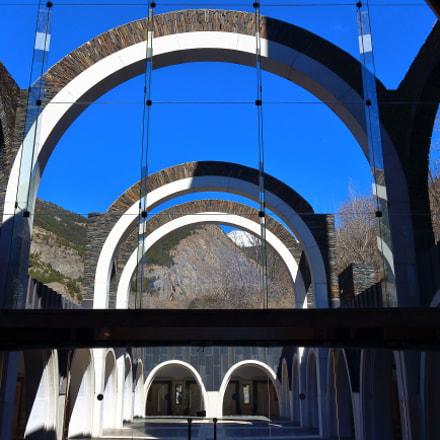 Santuari de Meritxell in Andorra (inside)