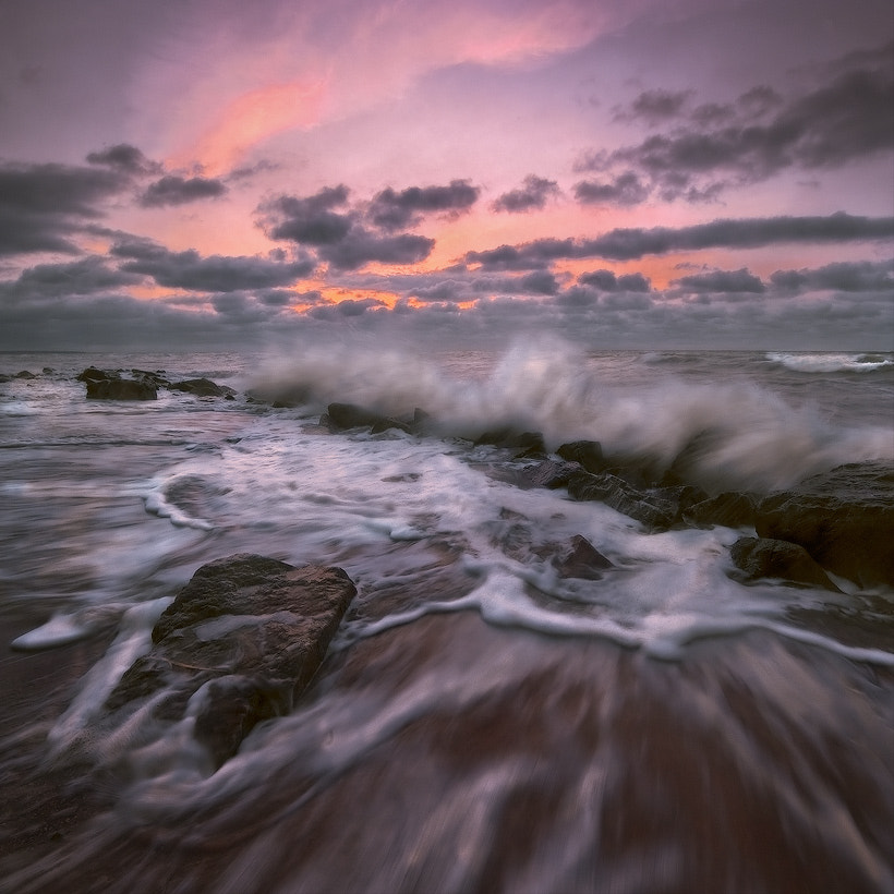 Photograph The sea was met with the tide by Vadim Shevchenko on 500px