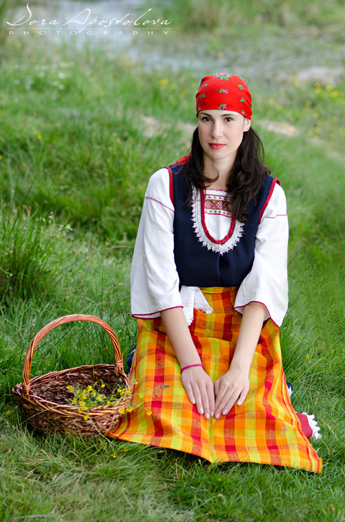 Photograph Bulgarian folklore costume from the Rhodope by Dora Apostolova on 500px