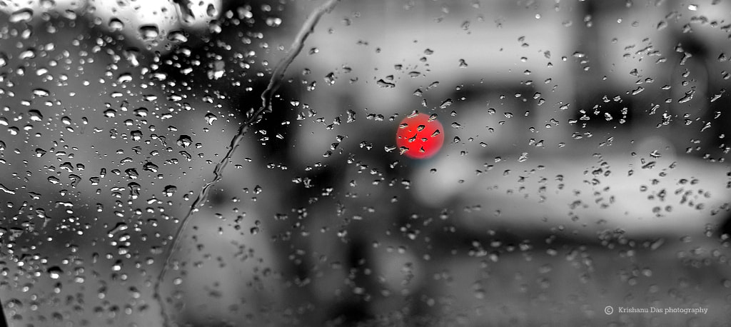 Photograph The red light by Krishanu  Das on 500px