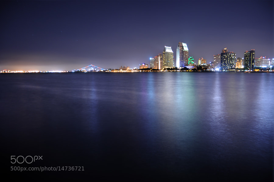 America's Finest City illuminates the night with its incredible beauty!