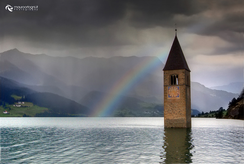 Photograph Raibow Resia lake by Mauro Ortogni on 500px