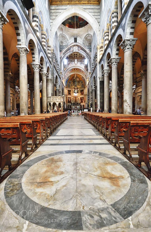 Photograph Pisa Chatedral Interior by Csilla Zelko on 500px