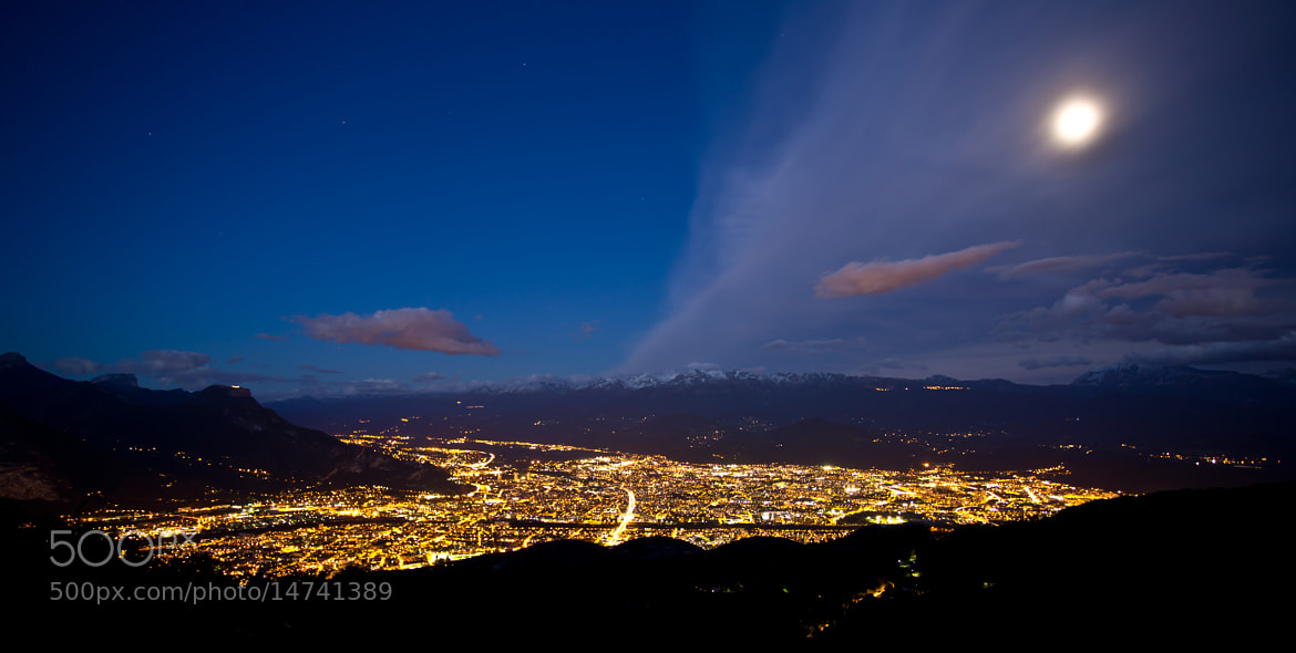 Photograph Grenoble By Night by Jonathan Chanal on 500px