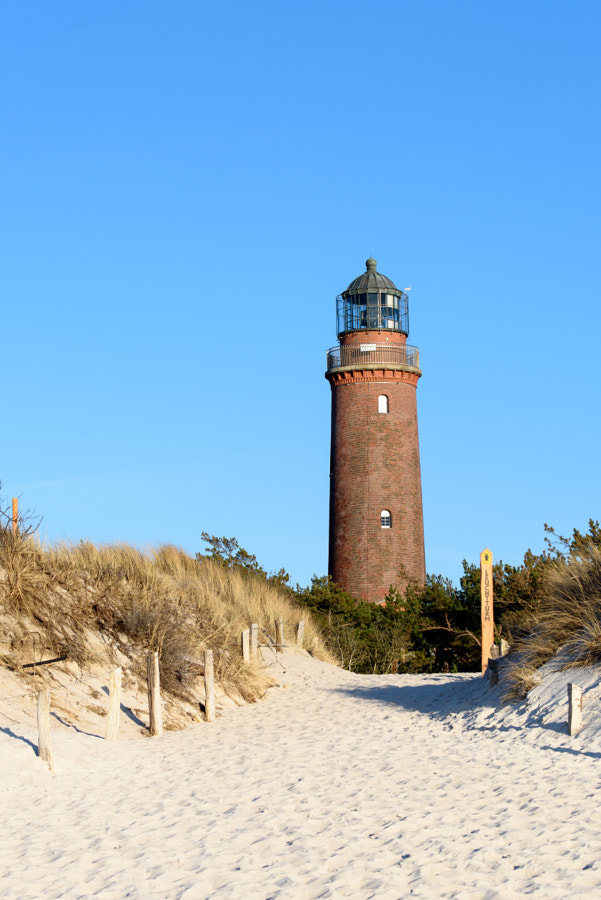 Lighthouse on Darss (west beach near to Prerow)