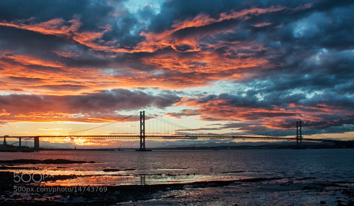Photograph Fire in the Sky by Mike Smith on 500px