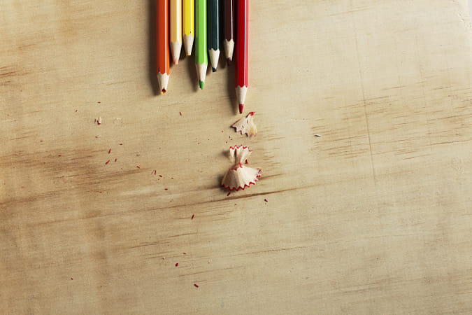 Colored pencils on a wooden board by Heather Balmain on 500px