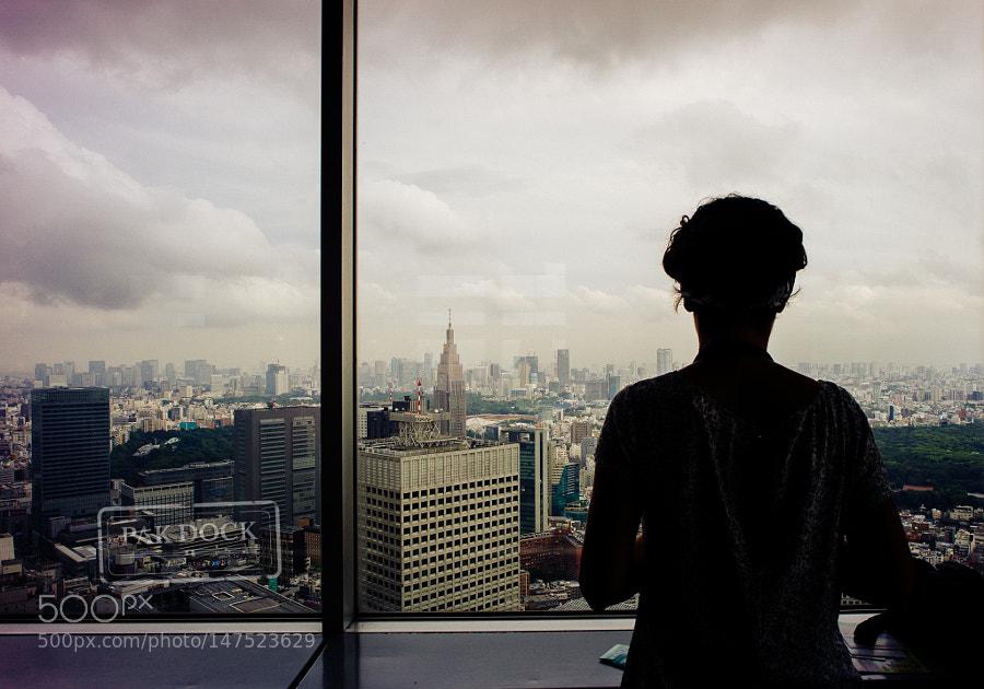 She is in Tokyo