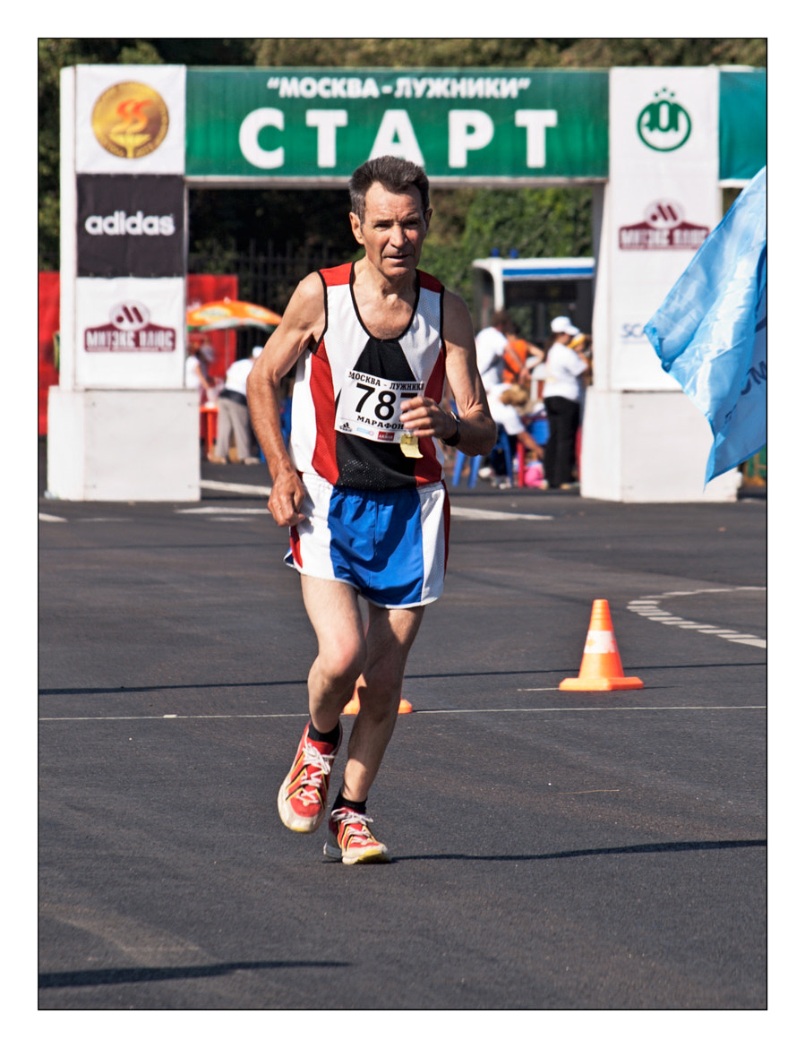 Photograph Series: Running - Emotions, feelings, states. Sprint 15 000 meters. Mid-range. No.787 by Victor K. Zhuravlev on 500px