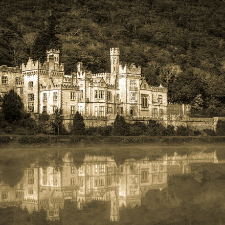 Kylemore Abbey, Canon EOS 1000D, Canon EF-S 18-55mm f/3.5-5.6 USM