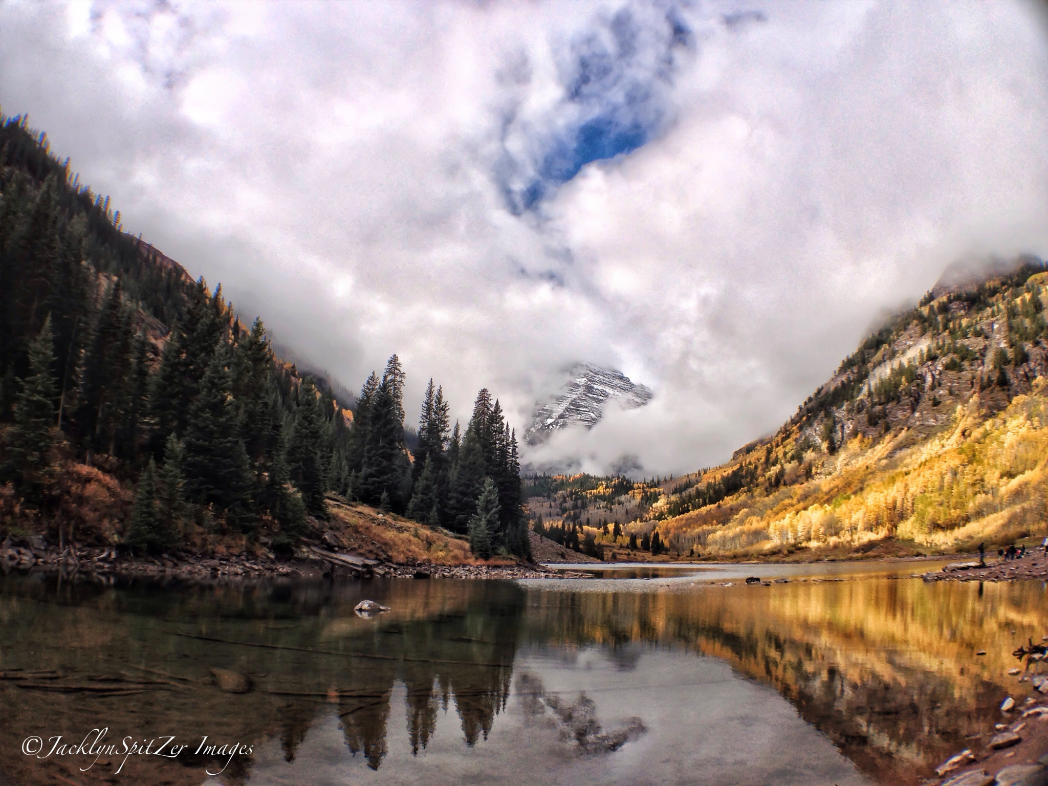 Photograph Maroon Bells Lake – Aspen, Colorado by Jacklyn Spitzer on 500px