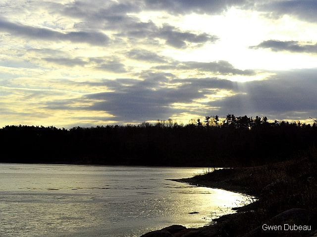 Photograph Sunset Shore by Gwen  Dubeau on 500px