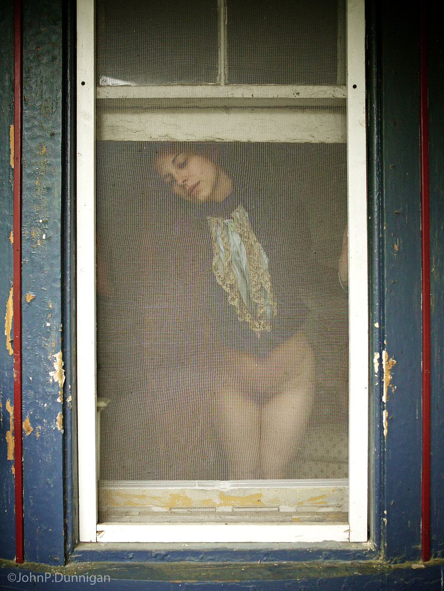 Photograph aubrey - porch window by John Dunnigan on 500px